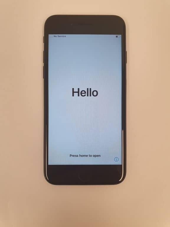 iPhone 7 256GB Zwart