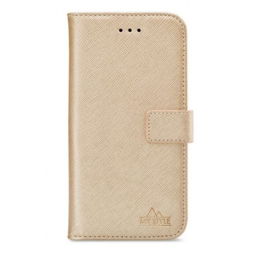 My Style Flex Wallet for Samsung Galaxy A51 Gold