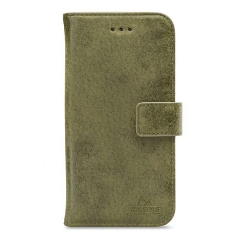 My Style Flex Wallet for Samsung Galaxy A70 Olive