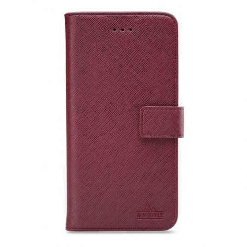 My Style Flex Wallet for Samsung Galaxy A51 Bordeaux