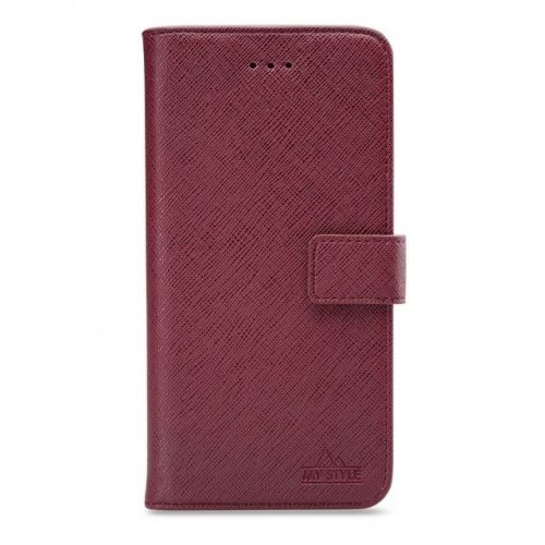 My Style Flex Wallet for Samsung Galaxy A41 Bordeaux