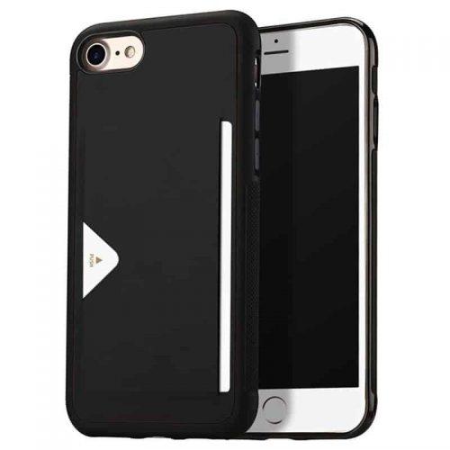 DUX DUCIS iPhone 7/8 Pocard Series Zwart
