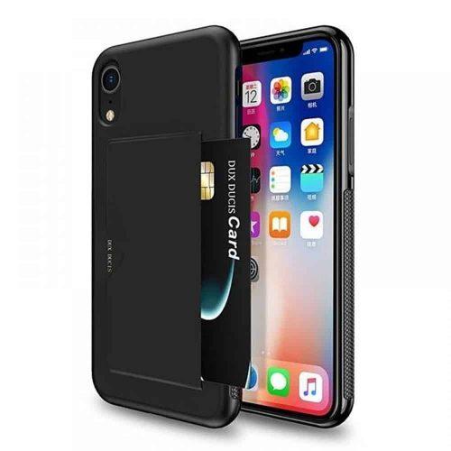 DUX DUCIS iPhone Xr Pocard Series zwart