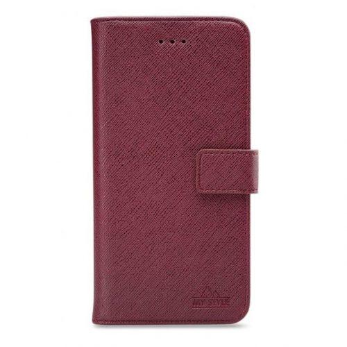 My Style Flex Wallet for Samsung Galaxy S10e Bordeaux